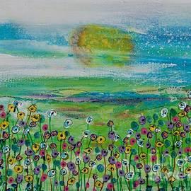 Flourescent Floral by Kim Nelson