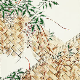 Flower Arrangement - Japanese traditional pattern design