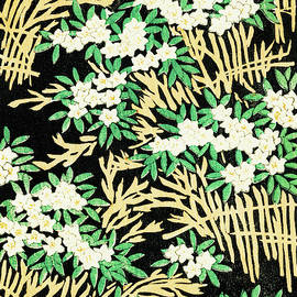 Flower Bed - Japanese traditional pattern design