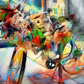 Flower Bike by Pennie McCracken