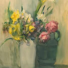 Flowers by Julian Alden Weir