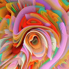 A Flower In Rainbow Colors Or A Rainbow In The Shape Of A Flower 14 by Elena Gantchikova