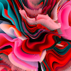 Flowers Of My Dreams 15 by Elena Gantchikova