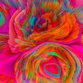 Flowers of my dreams 3 by Elena Gantchikova