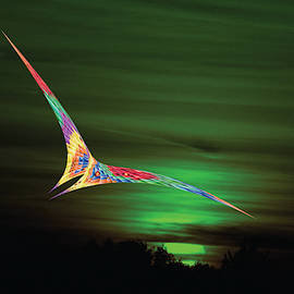 Flying In The Green Sky 2 by Peter Antos