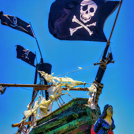 Flying The Pirates Colors by Garry Gay