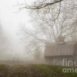 Joann Long - Foggy Country Barn