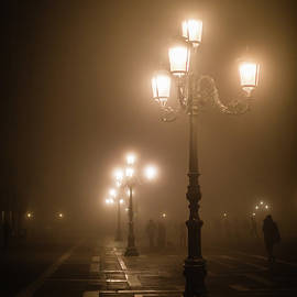 Foggy Piazza San Marco, Venice by Lyl Dil Creations
