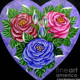 Anna Folkartanna Maciejewska-Dyba - Folk Art Roses for Sunday