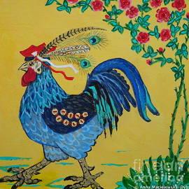 Folk Cockerel by Anna Folkartanna Maciejewska-Dyba
