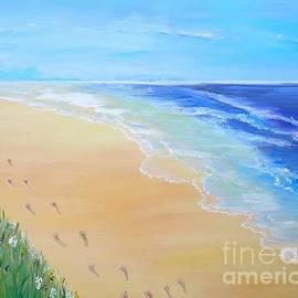 Footprints In The Sand by Karen Jane Jones