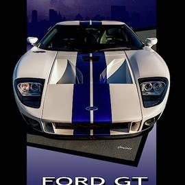 Ford Gt - City Escape by Steven Milner