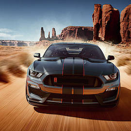 Ford Mustang Shelby G T 350 by Movie Poster Prints