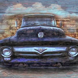 Ford Painting  by Debra and Dave Vanderlaan