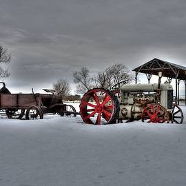 Fordson In February by Michael Morse