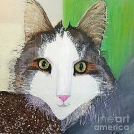 Forest the cat by Escudra Art