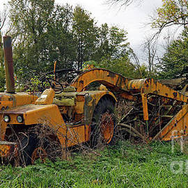 Forgotten Earth Mover, Rural Indiana by Steve Gass
