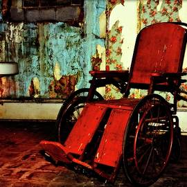 Forgotten Wheelchair by Constance Lowery