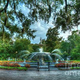 Forsyth Park Fountain 7 Historic Savannah Georgia Art by Reid Callaway