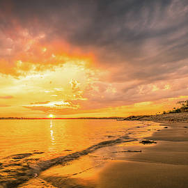 Fort Foster Sunset Watchers Club by Jeff Sinon