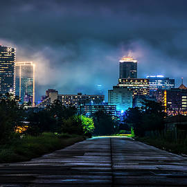 Fort Worth Lights by David Morefield