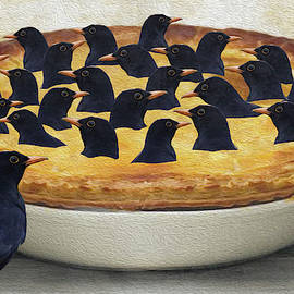 Four and twenty blackbirds baked in a pie by Eclectickle Art and Photography