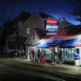 Four Seas- Night by Jonathan Guy-Gladding JAG