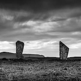 Four Stones of Brodgar by Dave Bowman