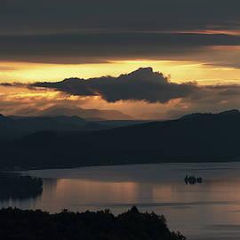 Fourth Lake First Light by Brad Wenskoski
