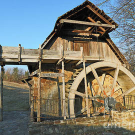 Fowler Park Grist Mill, Terre Haute, Indiana by Steve Gass