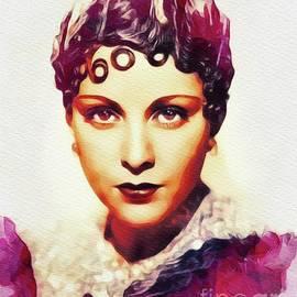 John Springfield - Frances Dee, Vintage Actress