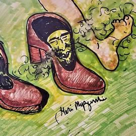 Frank Zappa Stink Foot by Geraldine Myszenski