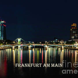 Frankfurt am Main Reflections by Norma Brandsberg