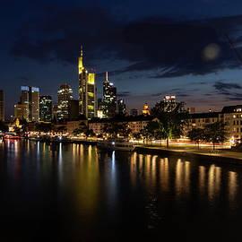 Frankfurt am Main Waterfront by Norma Brandsberg