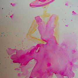 Frau in Pink by Gaby Koehler