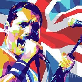 Freddie Mercury by Gilar Artoholic