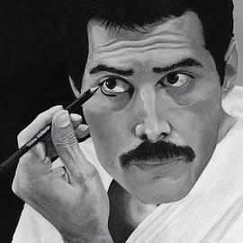 Freddie Mercury by Matthew Mezo