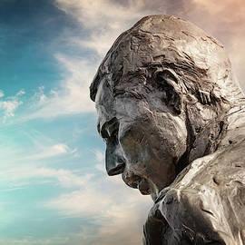 Freddie Mercury Montreux Switzerland  by Carol Japp
