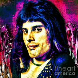 Freddie Mercury by Tina LeCour