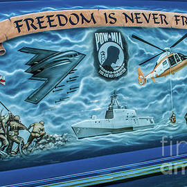 Freedom Is Never Free by Tony Baca