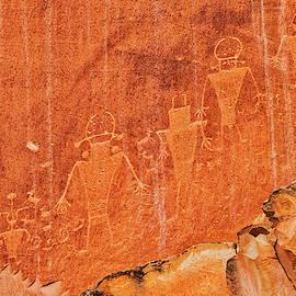 Fremont Culture Petroglyphs by Jurgen Lorenzen