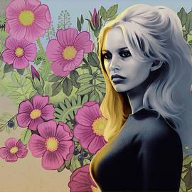 French Flowers feat. Brigitte Bardot by Udo Linke