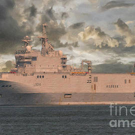 French Navy - L9014 Tonnerre by Dale Powell