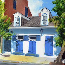 French Quarter Blues by Drew Enderlin