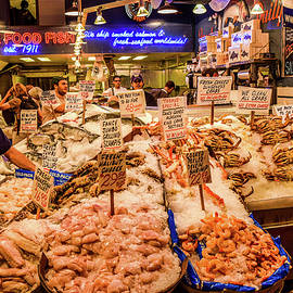Fresh Seafood... Get Your Fresh Seafood Here  by Edward Garey