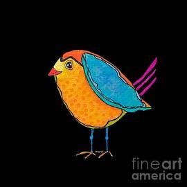 Frida Bird by Terri Price
