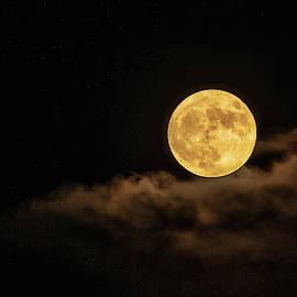 Friday The 13th Harvest Full Moon  by Saija Lehtonen
