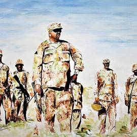 Front line by Khalid Saeed