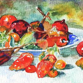 Fruits Of Midi Renoir Still Life Study by Irina Sztukowski