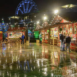 Funfair Reflections by Colin Rayner